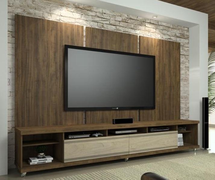 Rack Pra Sala Pequena ~ De Mais Modernidade Para Sua Sala Com um Rack com Painel Para Sala