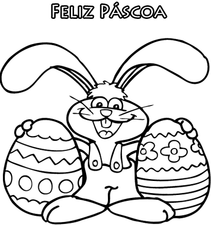 Otimas Sugestoes De Desenhos De Pascoa Para Colorir E Imprimir