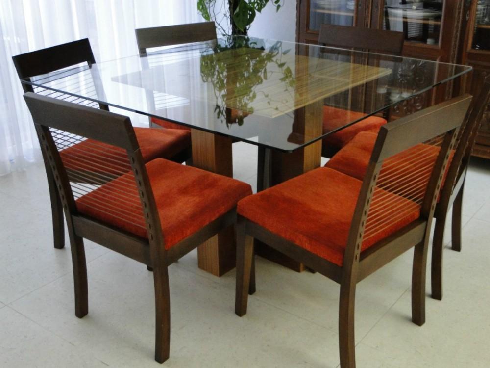 Mais Moderna Mesa de Jantar com 6 Cadeiras Para sua Casa Max Dicas #7B3217 1200x900