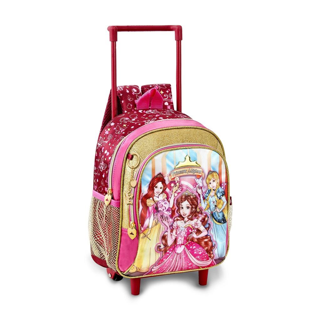 mochilas femininas infantil com rodinhas