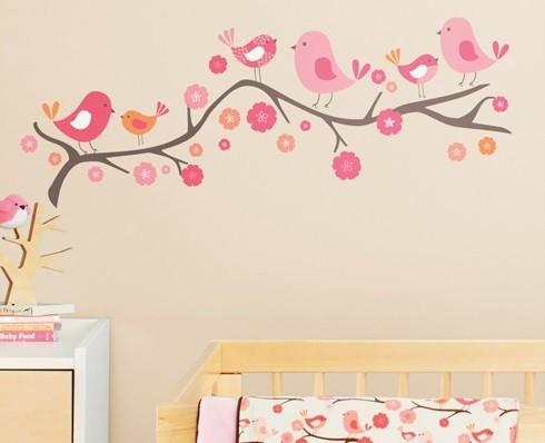 desivos infantil para quarto de bebe menina