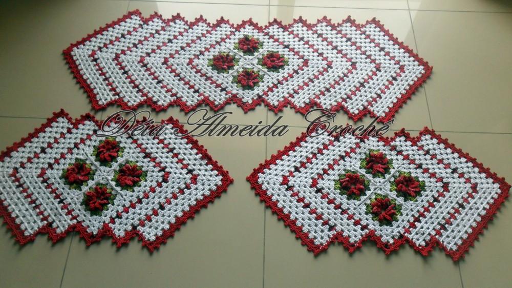 decoracao tapete cozinha : decoracao tapete cozinha: tapetes de crochê para cozinha que sempre estão em alta para