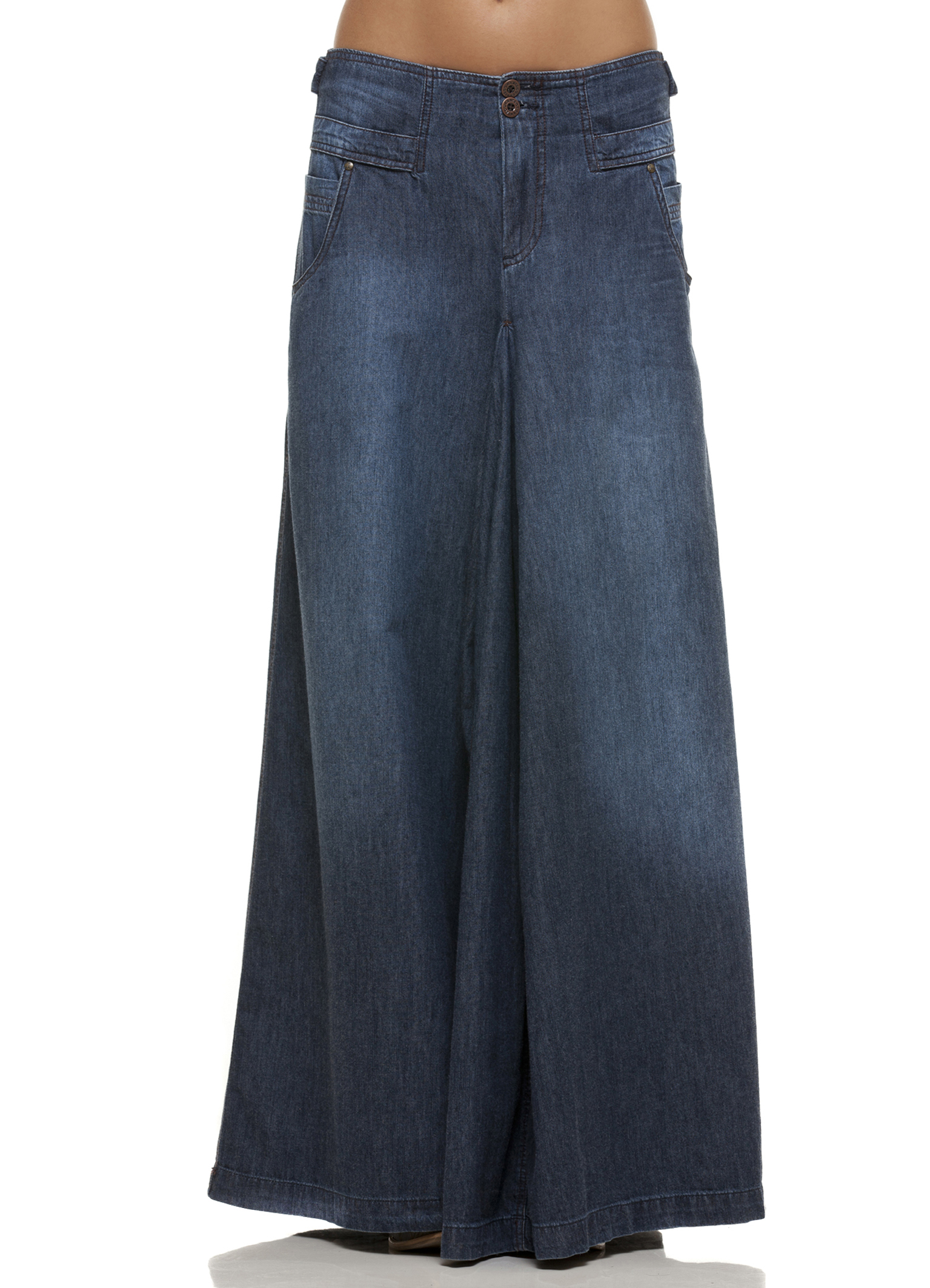 onde encontrar saia jeans longa