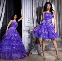 vestido roxo para debutante