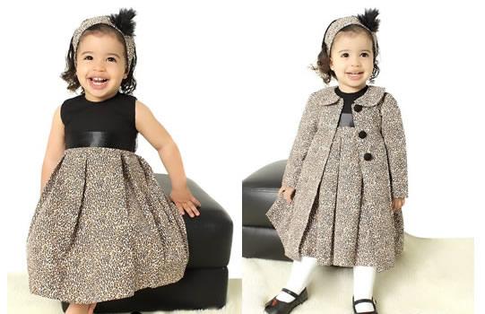 vestidos de inverno infantil