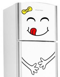 adesivos decorativos para geladeira