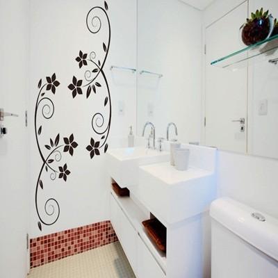 adesivos decorativos para parede de banheiro