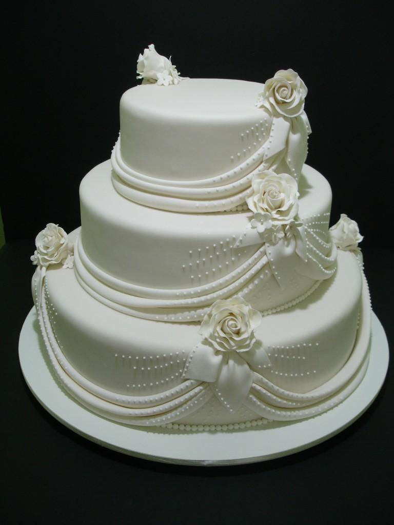 bolos decorados para casamento