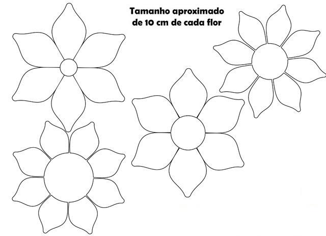 Escolha timos moldes de flores em eva para imprimir max for Moldes para pavimentos de hormigon