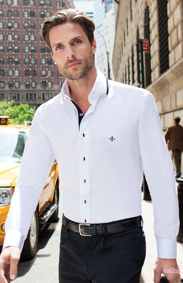 camisas masculinas dudalina branca