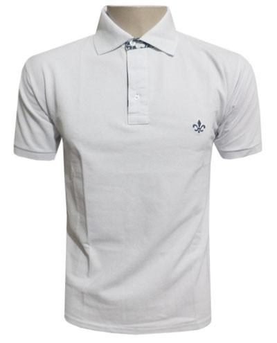 camisas masculinas dudalina polo branca