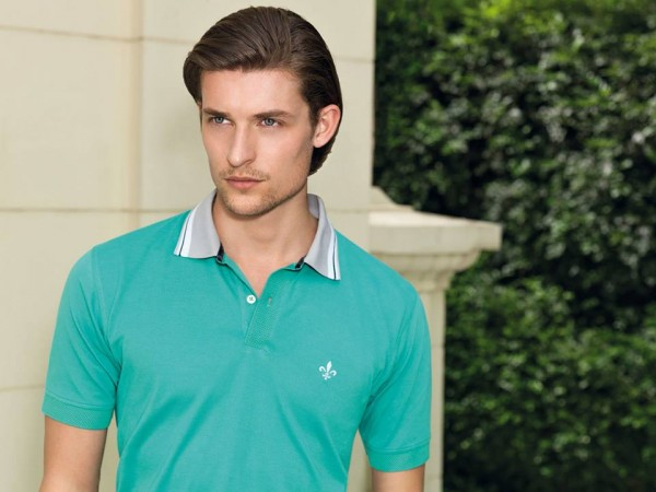 camisas masculinas dudalina polo verde