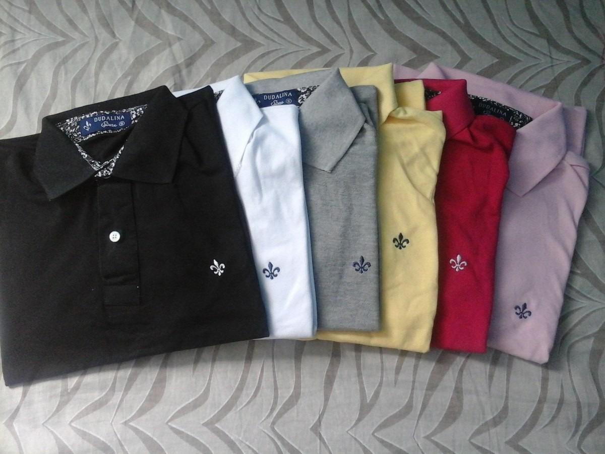 camisas masculinas dudalina polo