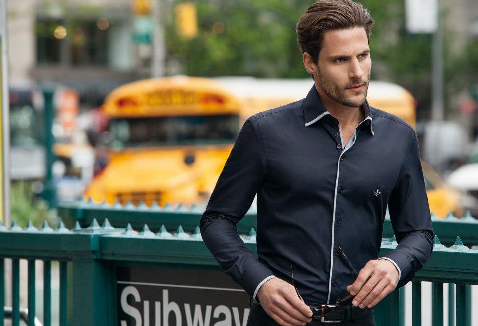 camisas masculinas dudalina preta