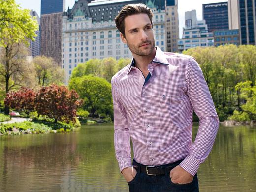 camisas masculinas dudalina rosa