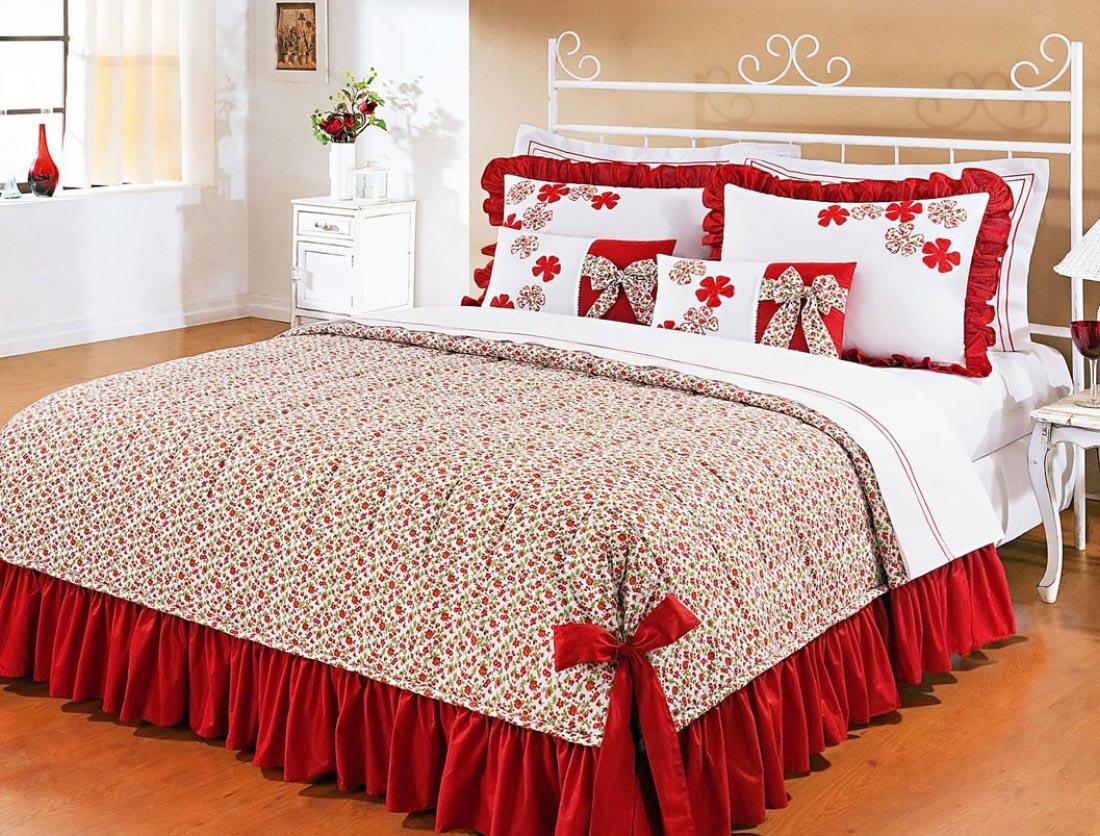 Decore seu quarto com as mais lindas colchas de cama de for Imagenes de cama queen size