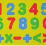 Moldes de Números em EVA para Imprimir de Diferentes Tamanhos