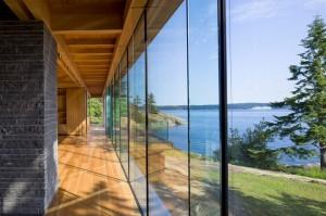paredes de vidro