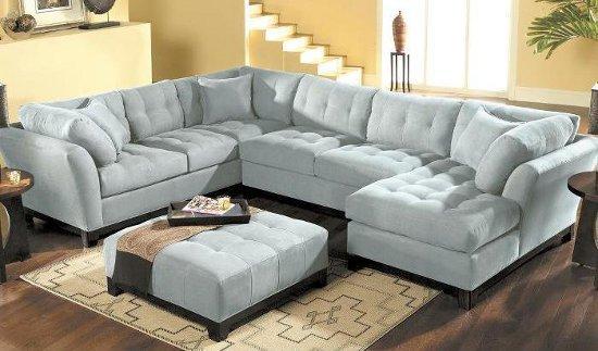 Sala Pequena Sofa De Canto ~  Escolha do Seu Sofá de Canto para Sala Grande e Pequena  Max Dicas