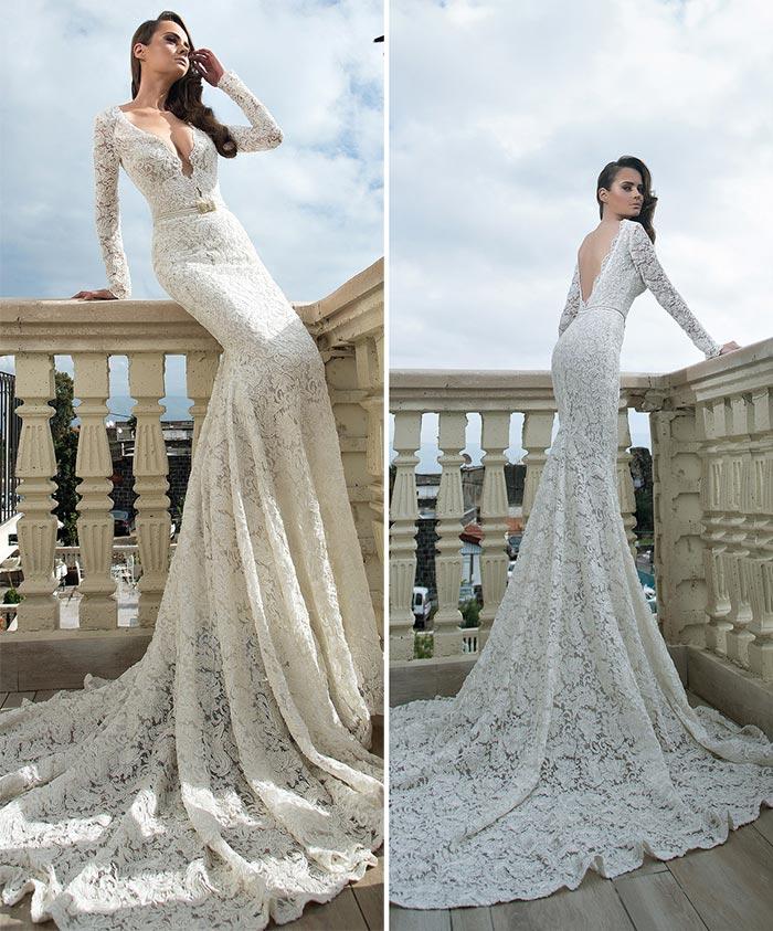 vestido de croche de noiva