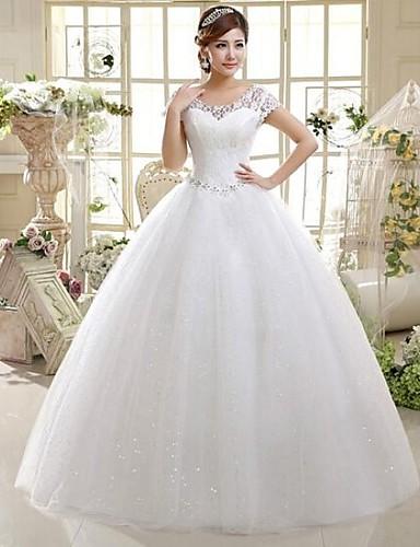 vestido estilo princesa de noiva