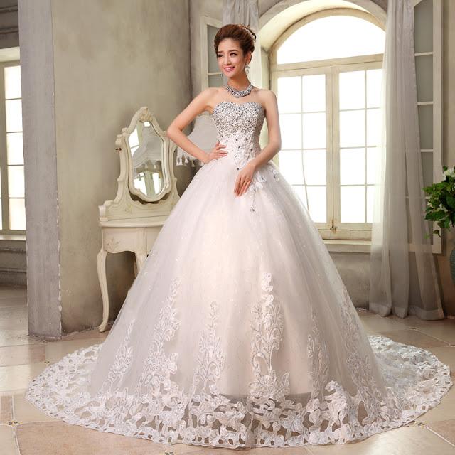 vestido tomara que caia rodado de noiva