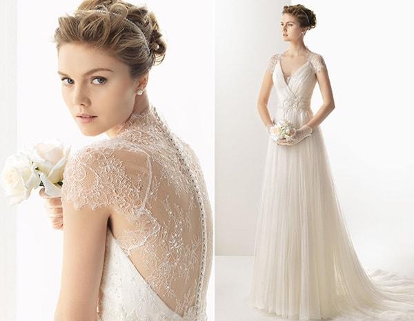 vestidos fluidos de noiva