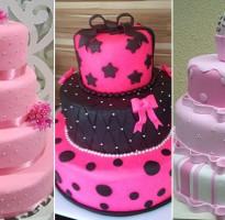 bolos decorados para festa de 15 anos