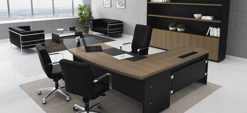 Mesas para escrit rio opte por qualidade e modernidade - Mesa escritorio l ...