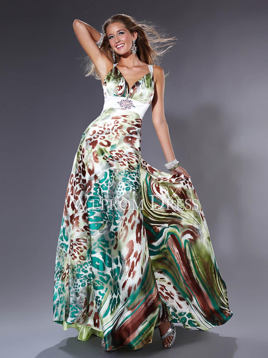 Vestidos Longos Estampados - Fotos e Modelos