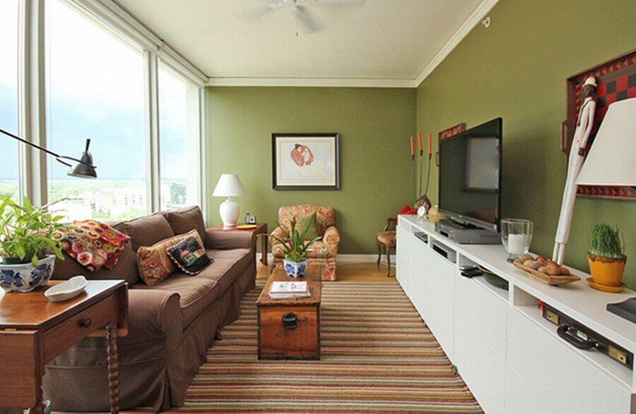 artigos decorativos para sala de estar