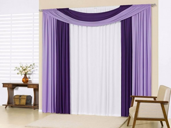 Lindas op es de cortinas decorativas para seu lar max dicas for Modelos de cortinas para sala 2016