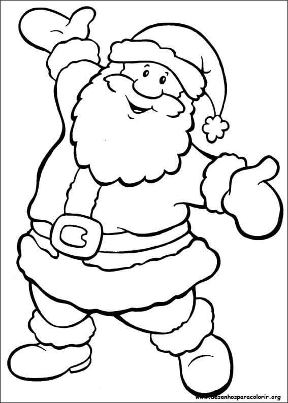 desenhos-de-natal-para-pintar-do-papai-noel