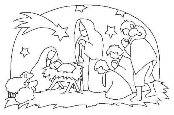 desenhos-do-nascimento-de-jesus
